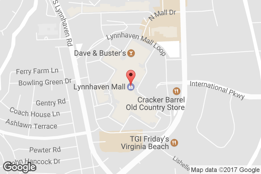 Map of Lynnhaven Mall - Click to view in Google Maps